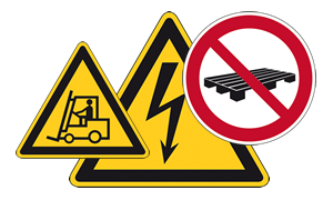 Vehicle, Hazard and Non-access Signs